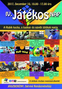 IV. Játékos Nap Jászberényben - plakát