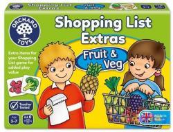 Gyümölcsök a bevásárlólistához