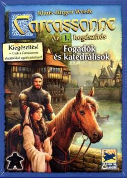 Carcassonne - Fogadók és Katedrálisok társasjáték