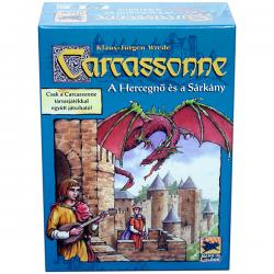 Carcassonne 3. kiegészítő - Hercegnő és Sárkány
