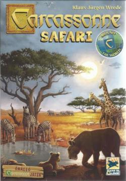Carcassonne Safari térsasjáték