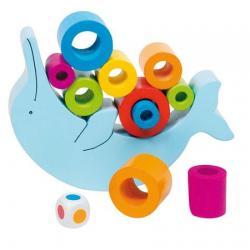 Egyensúlyozó delfin játék