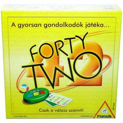 Forty Two társasjáték doboza