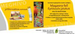 jáTÉKA 26 kiállítás meghívó