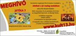 jáTÉKA kiállítás 7 meghívó