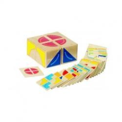 Kocka puzzle feladatkártyákkal