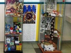 Kockajátékok kiállítás részlete