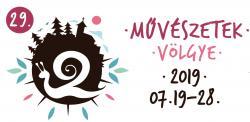 Művészetek Völgye 2019 logo