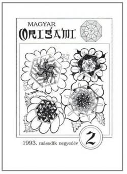 Magyar Origami Kör 1993/2 magazinja