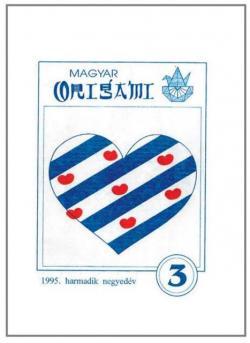 Magyar Origami Kör 1995/3 magazinja