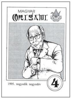 Magyar Origami Kör 1995/4 magazinja