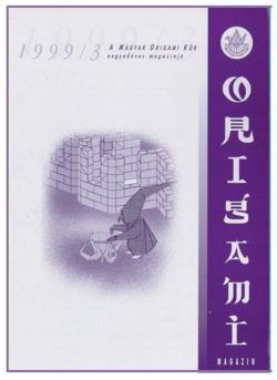 Magyar Origami Kör 1999/3 magazinja