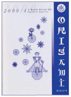 Magyar Origami Kör 2000/4 magazinja