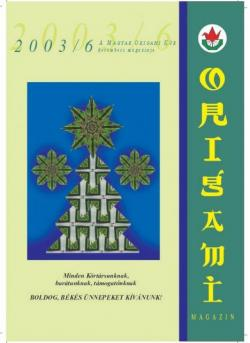 Magyar Origami Kör 2003/6 magazinja