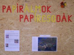 Papírálmok, papírcsodák pályázat és kiállítás