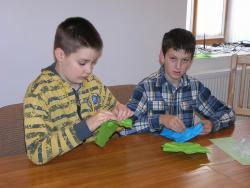 Origami hétvége 2011 november - Medina - beszámoló