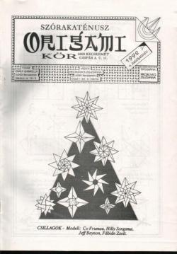 Szórakaténusz Origami Kör 1992/4 magazinja