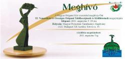 22. Nemzetközi és Országos Origami Találkozó - 2011 Budapest