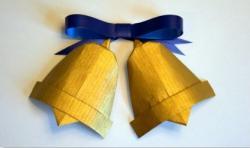 origami csengettyű