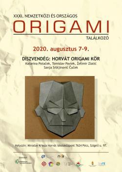 31. Nemzetközi és Országos Origami Találkozó - 2020. Pécs
