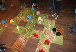 Óriás Carcassonne - ezt is kipróbálhatod a Játékfesztiválon