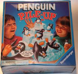 Pingvin egyensúlyozás játék