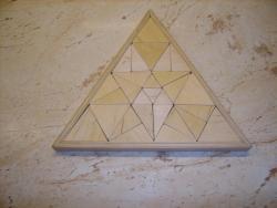 2D kirakók - Háromszög alakú kirakó