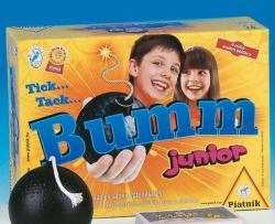 Tick... Tack... Bumm Junior játék doboza