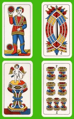 jáTÉKA kiállítás 5: Kártyajátékok-játékkártyák