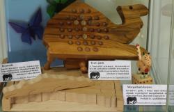 Vásárfia játékok az Állati jó játékok kiállításon