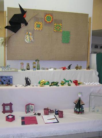 Kiállítás a találkozó színhelyén