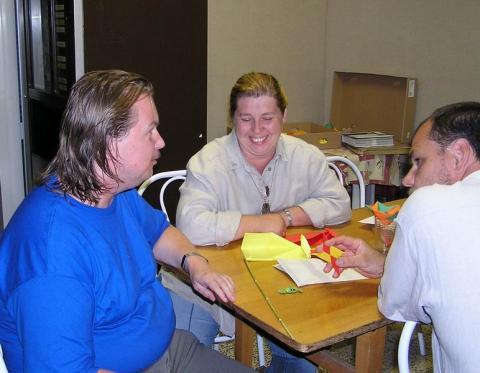Szekszárdi origami tábor