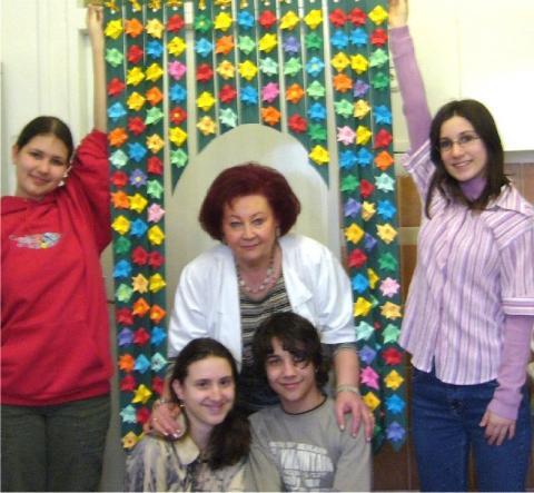 Pályamunka gyerekekkel: Virágkapu
