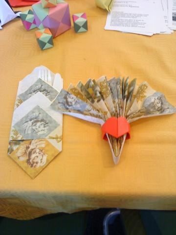 Elegáns origamik