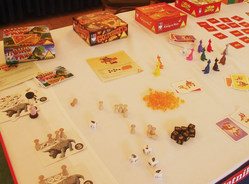 Dino Park, Gold Nugget, Kang-a-roo gyerekjátékok