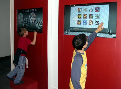 Escher Múzeum - interaktív kiállítás a 2. emeleten