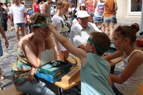 Látogatók a Győrkőcfesztiválon 09