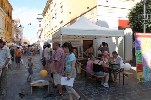 Látogatók a Győrkőcfesztiválon 11