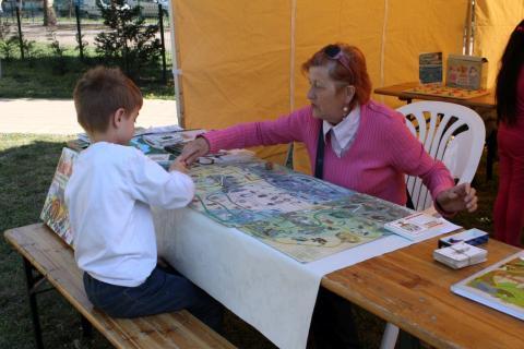 Látogatók a Lakóközösségi napon 2015. - Dráva utca 01