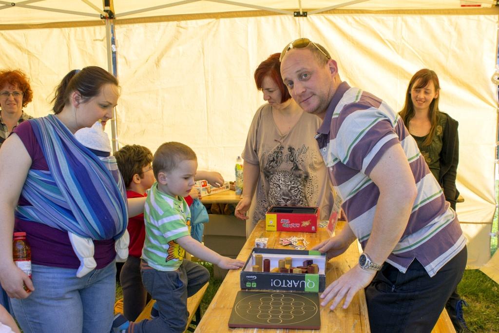 Látogatók a Lakóközösségi napon 2015. - Dráva utca 02