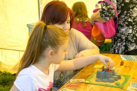Látogatók a Lakóközösségi napon 2015. - Dráva utca 05