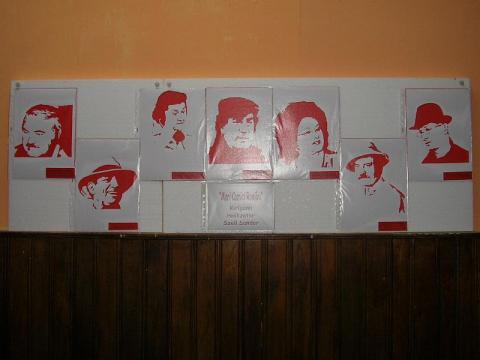 Origami és kirigami kiállítás Zsibón - Széll Sándor: Kirigami arcképek