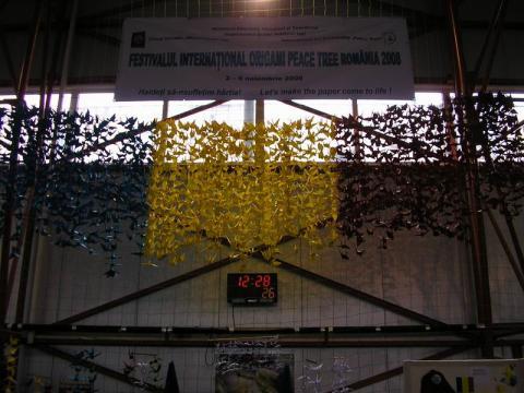 Origami Békefa Fesztivál 2008.11. Románia