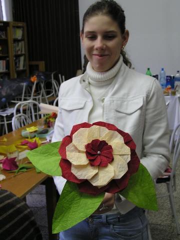 Egy elkészült virág