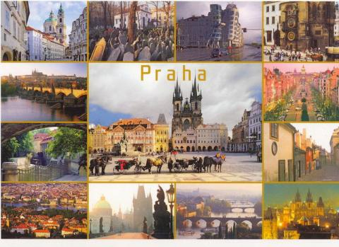 Képeslap Prágából