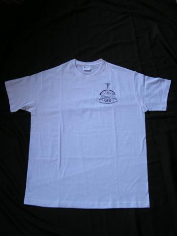 A rendezvényre készült póló
