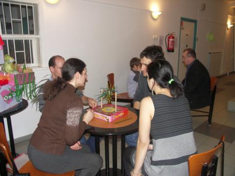 Játékosok a 28. Társasjáték klubban 09