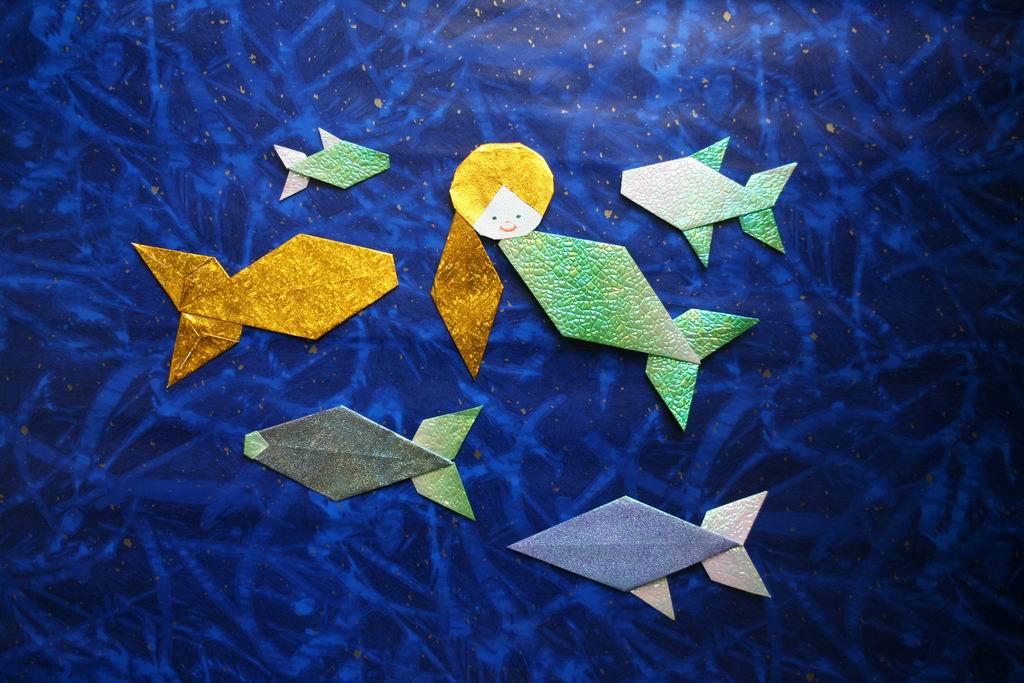 Kis Hableány és halak